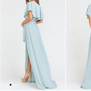 Show Me Your MuMu Dresses - Show Me Your Mumu Bridesmaid Dress - Silver Sage